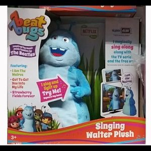 New in box Beat bugs singing Walter plush